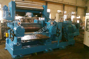 Stock Blender Rubber Mixing Mill With Stock Blender